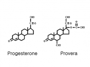CBprogesteroneproveramolecules
