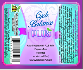 Cycle Balance progesterone cream plus female hormone balancing herbs. Not just for women but men can benefit from small amounts as well.