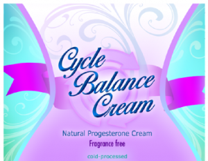 Cycle Balance Natural Progesterone Cream