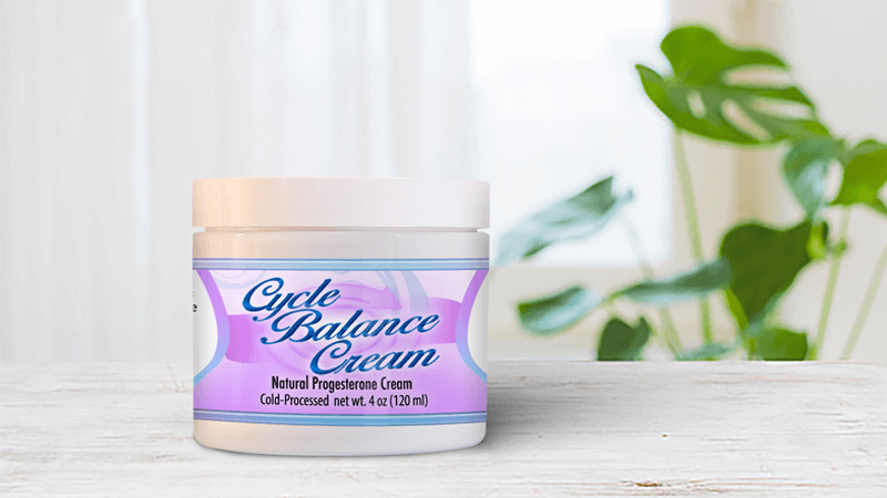 Cycle Balance Cream Natural Ingredients To Increase Progesterone